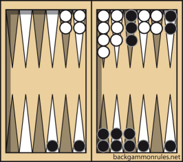 backgammon back game